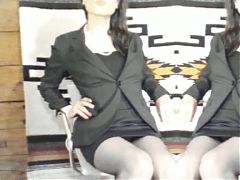 feminized and nylons^0:30
