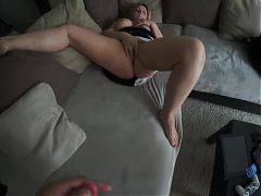 Cougar sucking my cock^1:08