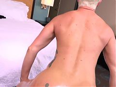 Short blonde haired Hot Milf fuck-session^13:56
