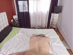 Sweet bigtit sister Viola suck and fuck brother on Virtual Taboo^6:00