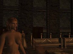 Sexlab defeat: At Enderal Bath House^1:44