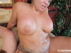 3 Big Booty BBW PAWGS Share Large Latino Cock^5:05